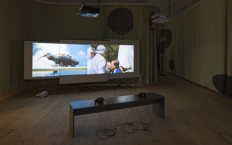 Maximilian Schmoetzer, Not Love Alone (2019), installation view, Kunsthal Aarhus. Photo: Mikkel Kaldal.