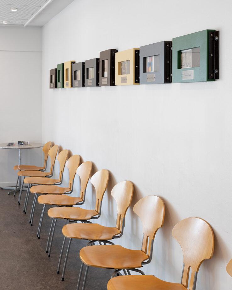 Jørgen Michaelsen, Dosis (2019), installation view at Aarhus Police Station. Photo: Mikkel Kaldal.